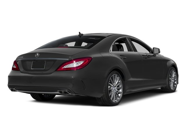 Steel Gray Metallic 2016 Mercedes-Benz CLS Pictures CLS Sedan 4D CLS550 V8 Turbo photos rear view