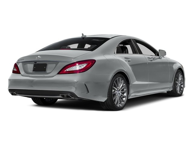Iridium Silver Metallic 2016 Mercedes-Benz CLS Pictures CLS Sedan 4D CLS550 V8 Turbo photos rear view