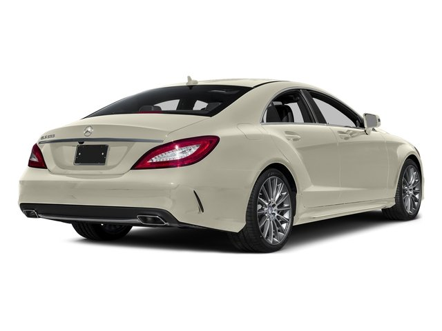 designo Diamond White Metallic 2016 Mercedes-Benz CLS Pictures CLS Sedan 4D CLS550 V8 Turbo photos rear view