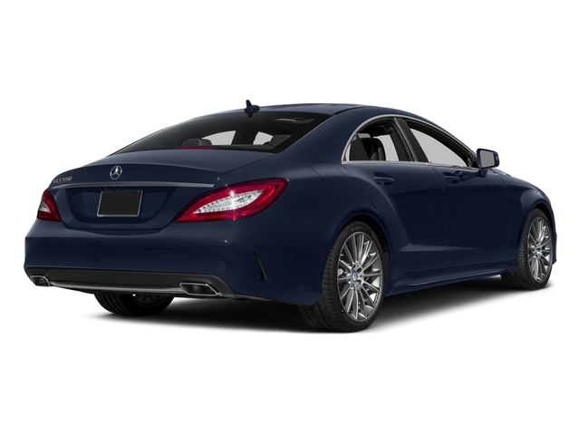 Lunar Blue Metallic 2016 Mercedes-Benz CLS Pictures CLS Sedan 4D CLS550 V8 Turbo photos rear view
