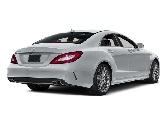 Diamond Silver Metallic 2016 Mercedes-Benz CLS Pictures CLS Sedan 4D CLS550 V8 Turbo photos rear view