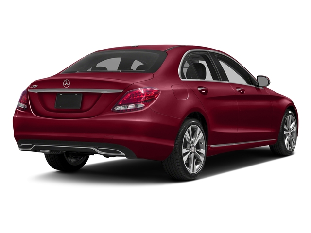 designo Cardinal Red Metallic 2016 Mercedes-Benz C-Class Pictures C-Class Sedan 4D C300 AWD I4 Turbo photos rear view