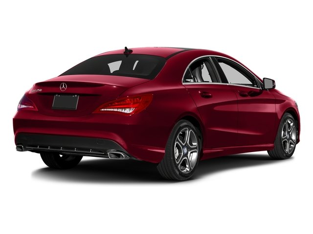 Jupiter Red 2016 Mercedes-Benz CLA Pictures CLA Sedan 4D CLA250 AWD I4 Turbo photos rear view