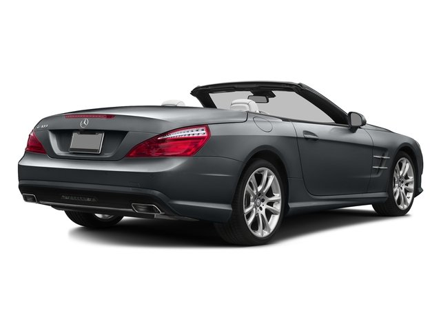 Shadow Gray Matte 2016 Mercedes-Benz SL Pictures SL Roadster 2D SL400 V6 Turbo photos rear view
