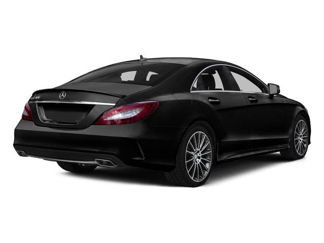Magnetite Black Metallic 2016 Mercedes-Benz CLS Pictures CLS Sedan 4D CLS400 V6 Turbo photos rear view