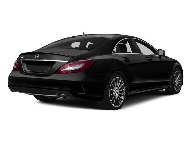Obsidian Black Metallic 2016 Mercedes-Benz CLS Pictures CLS Sedan 4D CLS400 V6 Turbo photos rear view