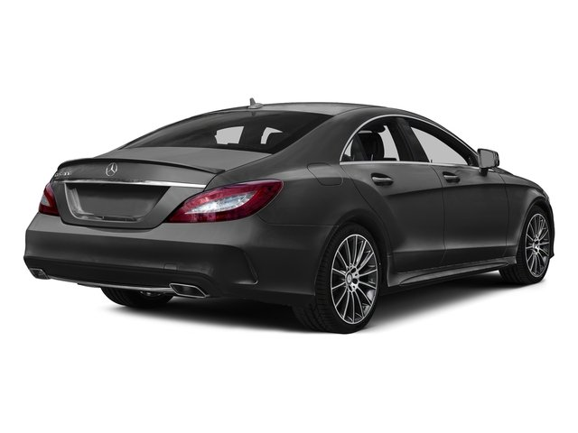 Steel Gray Metallic 2016 Mercedes-Benz CLS Pictures CLS Sedan 4D CLS400 V6 Turbo photos rear view