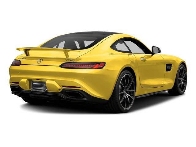 AMG Solarbeam Yellow 2016 Mercedes-Benz AMG GT Pictures AMG GT S 2 Door Coupe photos rear view