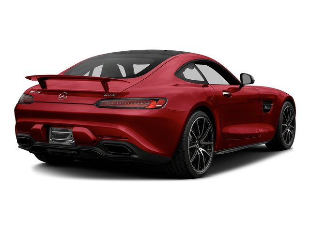 Mars Red 2016 Mercedes-Benz AMG GT Pictures AMG GT S 2 Door Coupe photos rear view