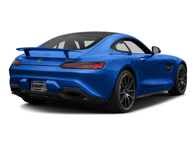 Brilliant Blue 2016 Mercedes-Benz AMG GT Pictures AMG GT S 2 Door Coupe photos rear view
