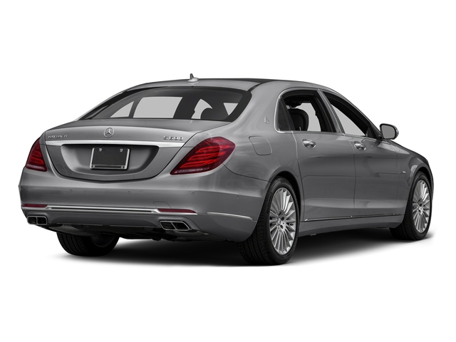 designo Magno Alanite Gray (Matte Finish) 2016 Mercedes-Benz S-Class Pictures S-Class Sedan 4D S600 Maybach V12 Turbo photos rear view