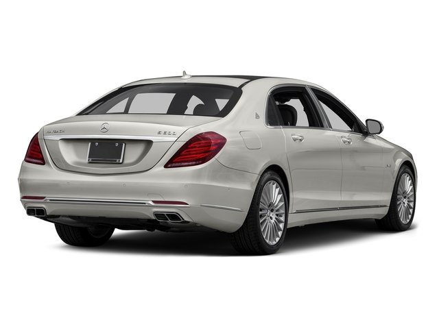 designo Magno Cashmere White (Matte Finish) 2016 Mercedes-Benz S-Class Pictures S-Class Sedan 4D S600 Maybach V12 Turbo photos rear view