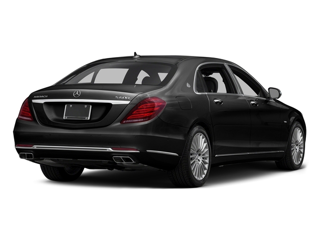 Obsidian Black Metallic 2016 Mercedes-Benz S-Class Pictures S-Class Sedan 4D S600 Maybach V12 Turbo photos rear view