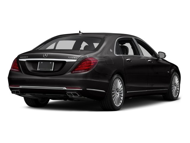 Verde Brook Metallic 2016 Mercedes-Benz S-Class Pictures S-Class Sedan 4D S600 Maybach V12 Turbo photos rear view