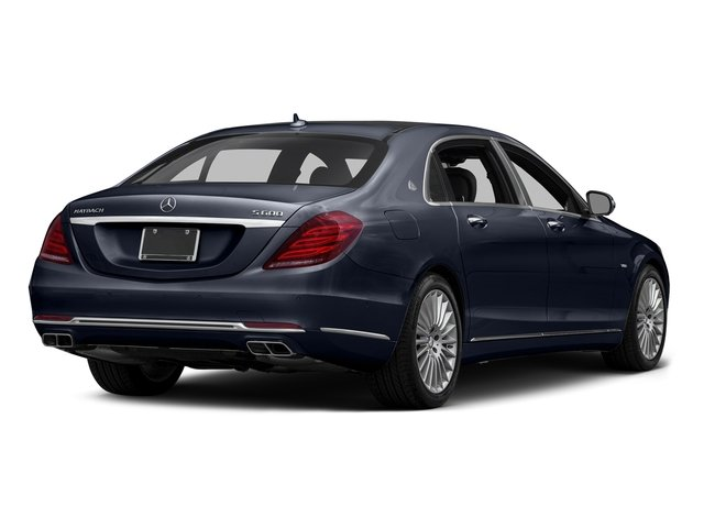 Lunar Blue Metallic 2016 Mercedes-Benz S-Class Pictures S-Class Sedan 4D S600 Maybach V12 Turbo photos rear view