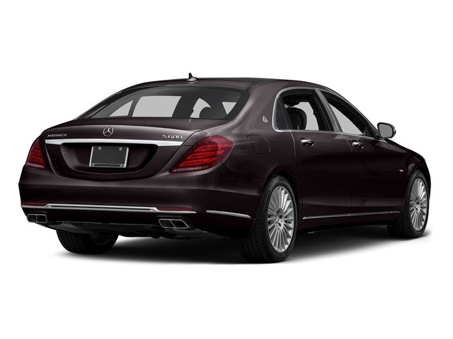 Ruby Black Metallic 2016 Mercedes-Benz S-Class Pictures S-Class Sedan 4D S600 Maybach V12 Turbo photos rear view