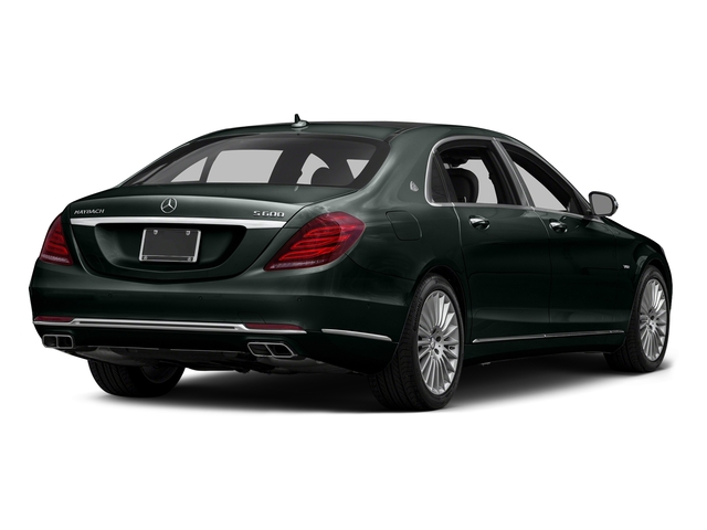 Emerald Green Metallic 2016 Mercedes-Benz S-Class Pictures S-Class Sedan 4D S600 Maybach V12 Turbo photos rear view