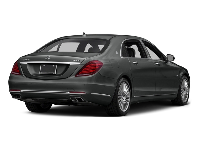 Selenite Grey Metallic 2016 Mercedes-Benz S-Class Pictures S-Class Sedan 4D S600 Maybach V12 Turbo photos rear view