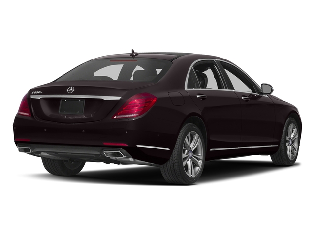 Ruby Black Metallic 2016 Mercedes-Benz S-Class Pictures S-Class Sedan 4D S550e V6 Turbo photos rear view