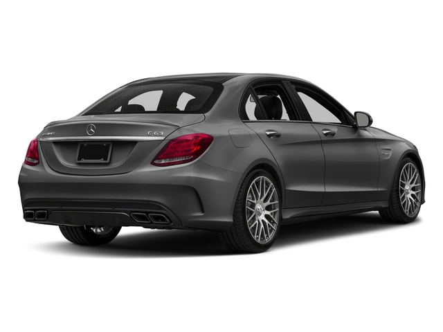 Steel Gray Metallic 2016 Mercedes-Benz C-Class Pictures C-Class Sedan 4D C63 AMG V8 Turbo photos rear view