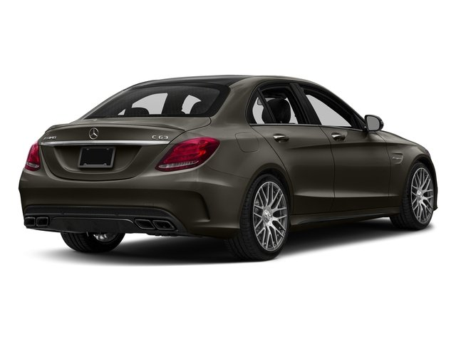 Dakota Brown Metallic 2016 Mercedes-Benz C-Class Pictures C-Class Sedan 4D C63 AMG V8 Turbo photos rear view