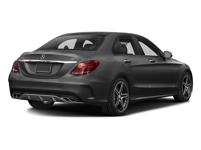 Steel Gray Metallic 2016 Mercedes-Benz C-Class Pictures C-Class Sedan 4D C450 Sport AMG AWD V6 Turbo photos rear view