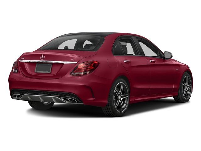 designo Cardinal Red Metallic 2016 Mercedes-Benz C-Class Pictures C-Class Sedan 4D C450 Sport AMG AWD V6 Turbo photos rear view