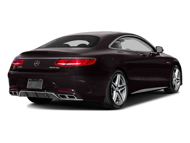 Ruby Black Metallic 2016 Mercedes-Benz S-Class Pictures S-Class 2 Door Coupe Rear Wheel Drive photos rear view
