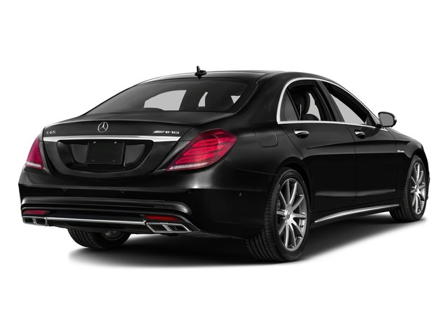 Obsidian Black Metallic 2016 Mercedes-Benz S-Class Pictures S-Class 4 Door Sedan Rear Wheel Drive photos rear view