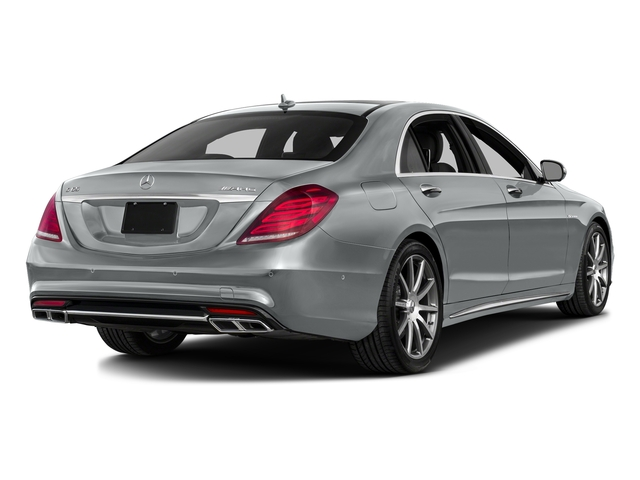 Iridium Silver Metallic 2016 Mercedes-Benz S-Class Pictures S-Class 4 Door Sedan Rear Wheel Drive photos rear view