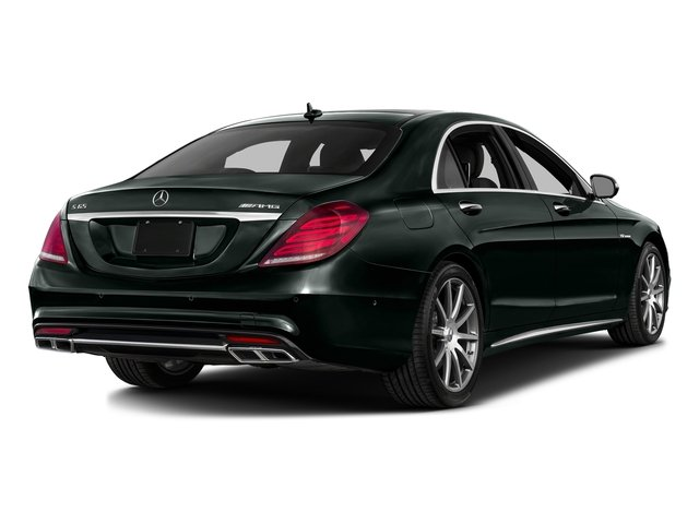 Emerald Green Metallic 2016 Mercedes-Benz S-Class Pictures S-Class 4 Door Sedan Rear Wheel Drive photos rear view