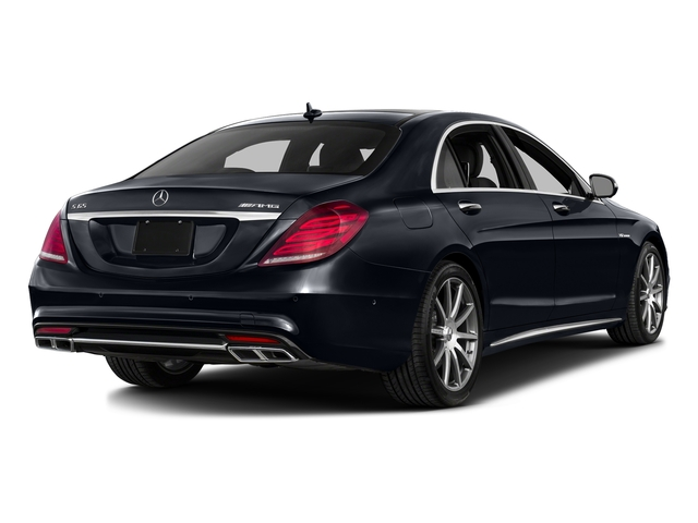 Anthracite Blue Metallic 2016 Mercedes-Benz S-Class Pictures S-Class 4 Door Sedan Rear Wheel Drive photos rear view