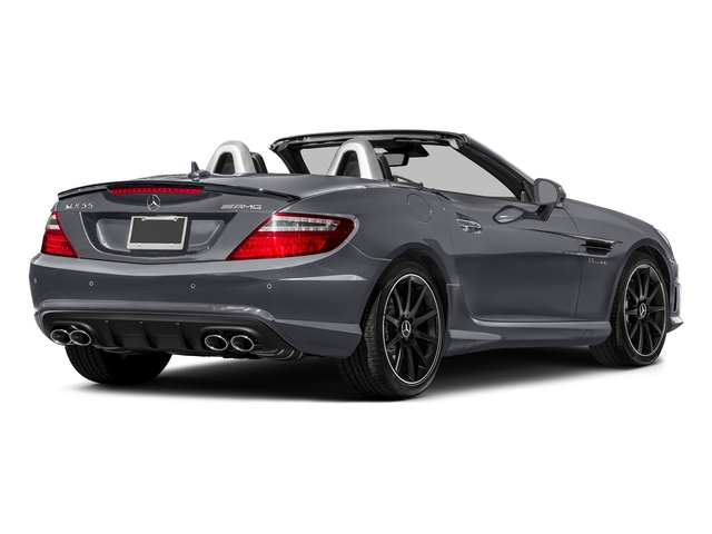 designo Magno Shadow Grey 2016 Mercedes-Benz SLK Pictures SLK Roadster 2D SLK55 AMG V8 photos rear view