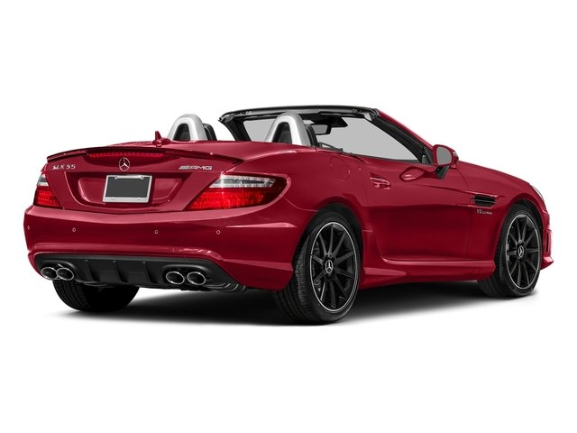 Mars Red 2016 Mercedes-Benz SLK Pictures SLK Roadster 2D SLK55 AMG V8 photos rear view