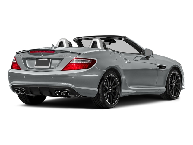 Iridium Silver Metallic 2016 Mercedes-Benz SLK Pictures SLK Roadster 2D SLK55 AMG V8 photos rear view