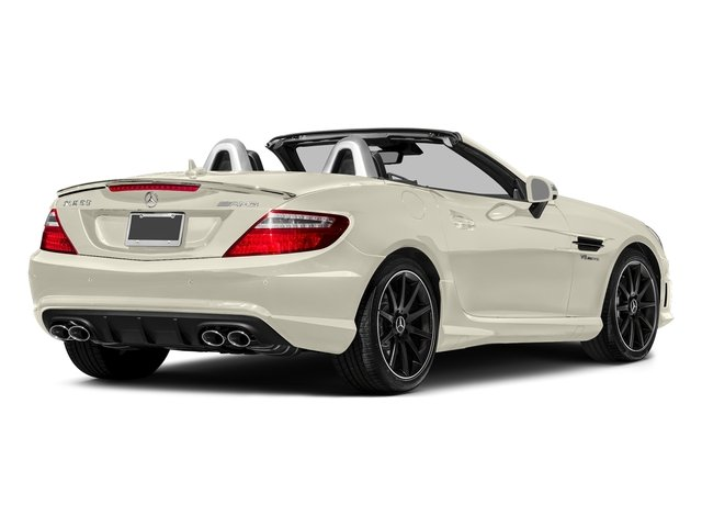 designo Diamond White Metallic 2016 Mercedes-Benz SLK Pictures SLK Roadster 2D SLK55 AMG V8 photos rear view