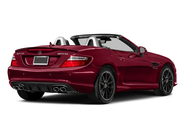 designo Cardinal Red Metallic 2016 Mercedes-Benz SLK Pictures SLK Roadster 2D SLK55 AMG V8 photos rear view