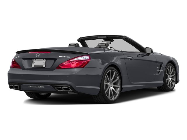 Shadow Gray Matte 2016 Mercedes-Benz SL Pictures SL Roadster 2D SL63 AMG V8 Turbo photos rear view