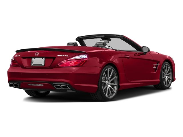 Mars Red 2016 Mercedes-Benz SL Pictures SL Roadster 2D SL63 AMG V8 Turbo photos rear view