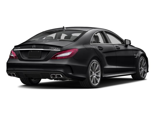 Black 2016 Mercedes-Benz CLS Pictures CLS Sedan 4D CLS63 AMG S AWD V8 photos rear view