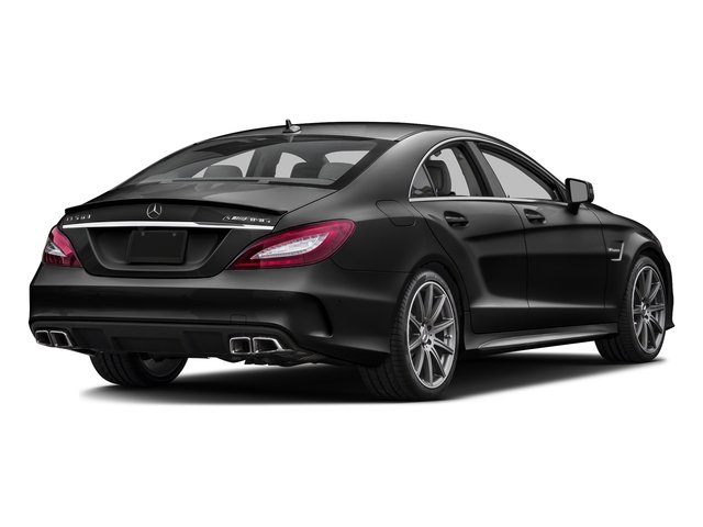 Magnetite Black Metallic 2016 Mercedes-Benz CLS Pictures CLS Sedan 4D CLS63 AMG S AWD V8 photos rear view