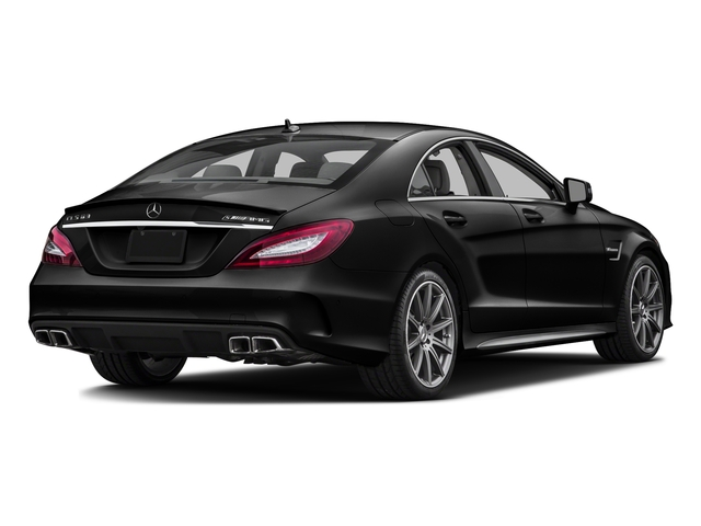 Obsidian Black Metallic 2016 Mercedes-Benz CLS Pictures CLS Sedan 4D CLS63 AMG S AWD V8 photos rear view