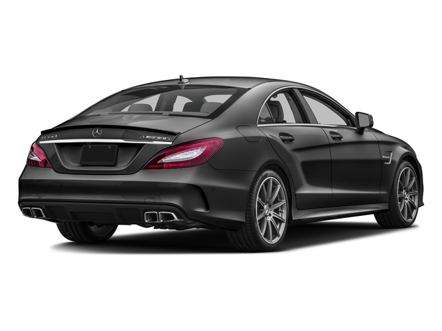 Steel Gray Metallic 2016 Mercedes-Benz CLS Pictures CLS Sedan 4D CLS63 AMG S AWD V8 photos rear view