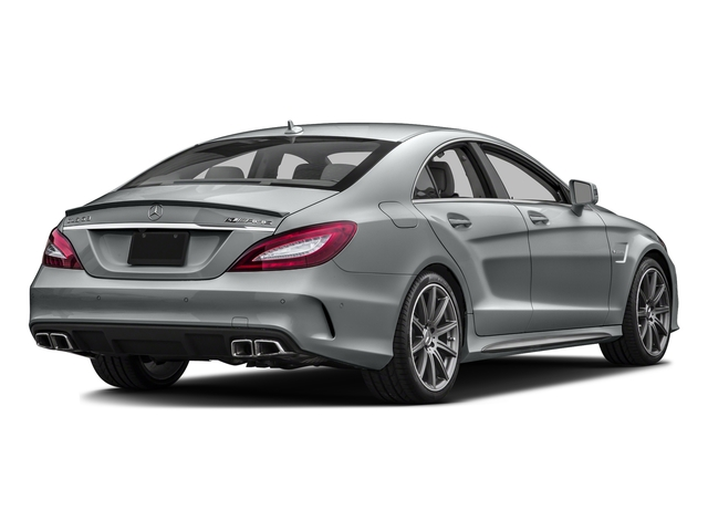 Iridium Silver Metallic 2016 Mercedes-Benz CLS Pictures CLS Sedan 4D CLS63 AMG S AWD V8 photos rear view
