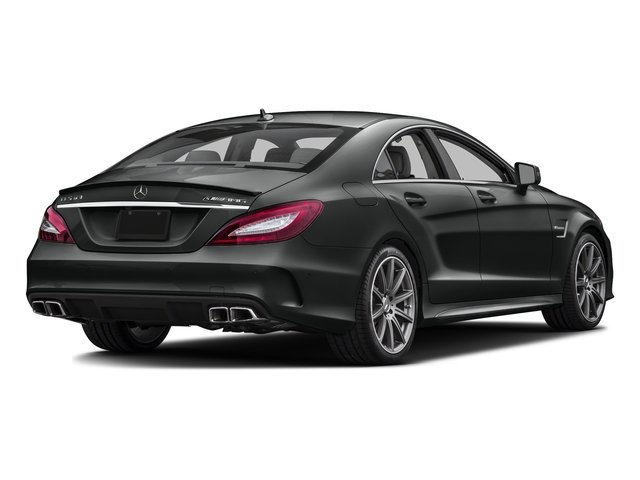Selenite Grey Metallic 2016 Mercedes-Benz CLS Pictures CLS Sedan 4D CLS63 AMG S AWD V8 photos rear view