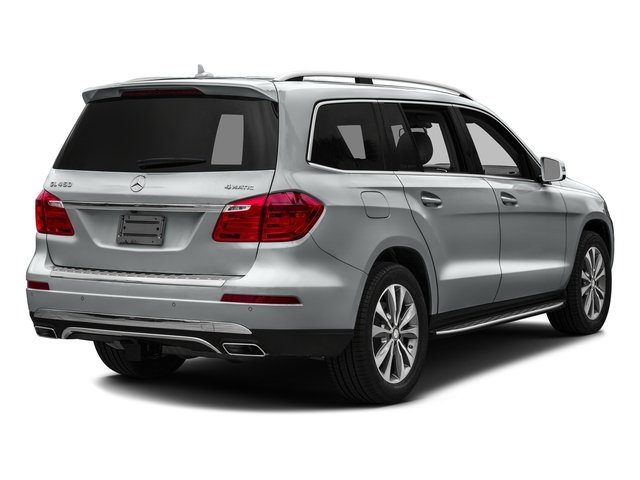 Iridium Silver Metallic 2016 Mercedes-Benz GL Pictures GL Utility 4D GL450 4WD V6 photos rear view