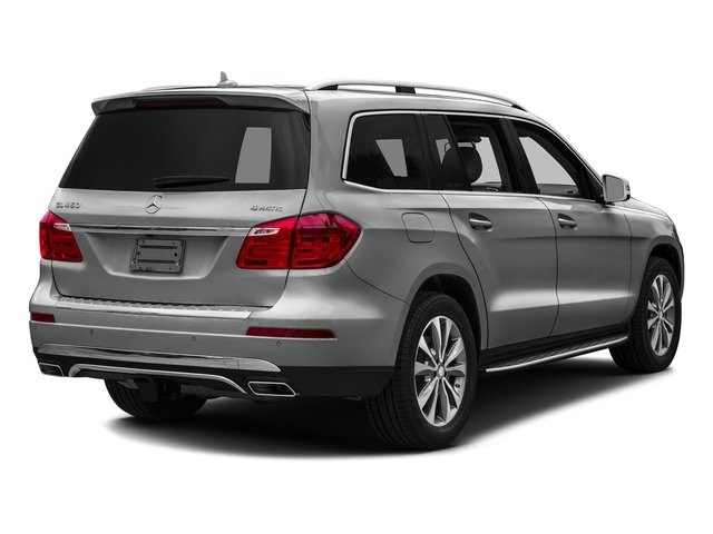 Palladium Silver Metallic 2016 Mercedes-Benz GL Pictures GL Utility 4D GL450 4WD V6 photos rear view