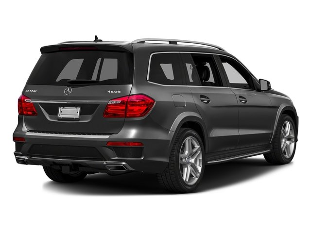 Steel Gray Metallic 2016 Mercedes-Benz GL Pictures GL Utility 4D GL550 4WD V8 photos rear view