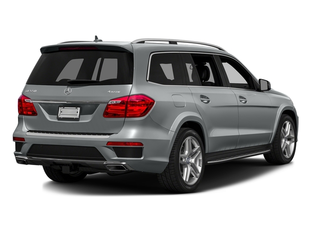 Iridium Silver Metallic 2016 Mercedes-Benz GL Pictures GL Utility 4D GL550 4WD V8 photos rear view
