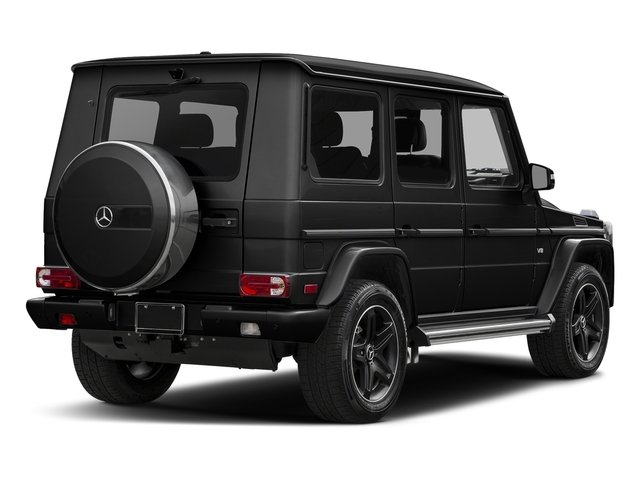 Obsidian Black Metallic 2016 Mercedes-Benz G-Class Pictures G-Class 4 Door Utility 4Matic photos rear view